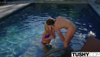 Hot young latina gets a creampie